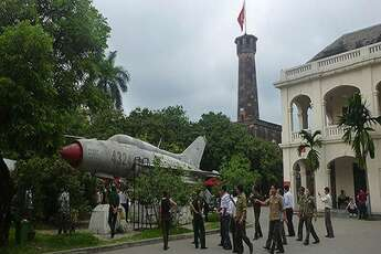 The Vietnam Military History Museum in Hanoi