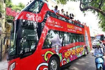 Visit Hanoi aboard a Hop On Hop Off bus