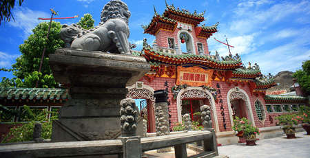 Phuc Kien temple or the Fujian Assembly Hall in Hoi An