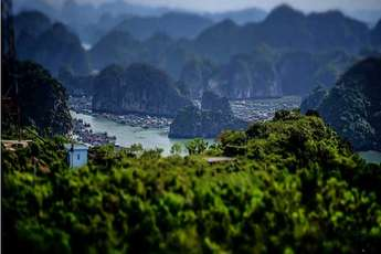 Cat Ba, the pearl island in the Gulf of Tonkin