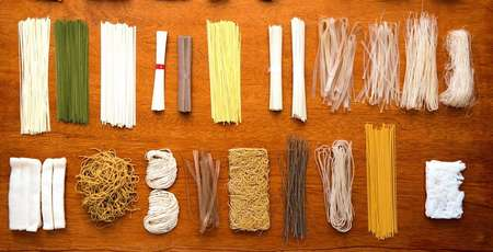 Nouilles, different kinds of noodle in Vietnam