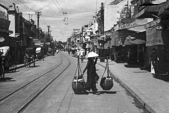 Hanoi's Old Quarter Over Almost 100 Years