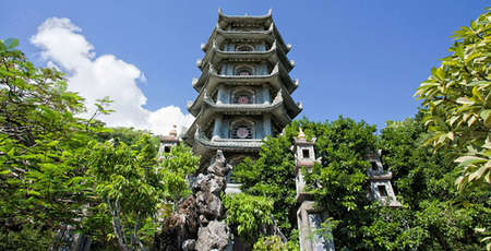 Ngu Hanh Son or marble mountains, Spiritual tourism destination in Da Nang