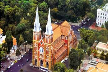 Restoration of Notre Dame Cathedral in Ho Chi Minh City
