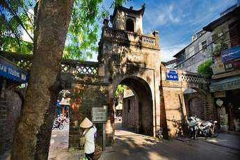 Hanoi city and its old quarter