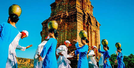 Po Klong Garai Cham temple, architectural marvel of Ninh Thuan