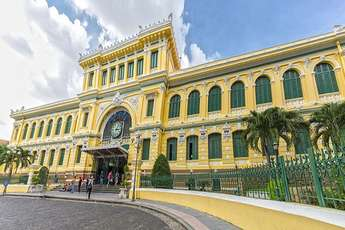 Saigon Central Post Office, the old face of Ho Chi Minh City