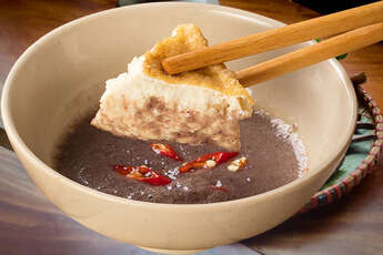 Mam tom - shrimp paste in 4 popular Vietnam dishes