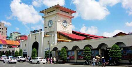 Two famous markets in Saigon