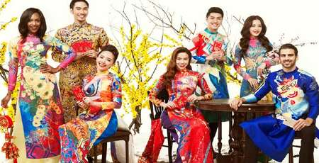 Ao Dai in the History and the Traditional Tet Holiday