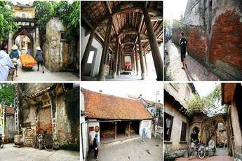 Three beautiful ancient villages not far from Hanoi to visit