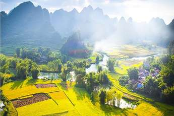 Non Nuoc Cao Bang Geological Park, 2nd world geopark in Vietnam