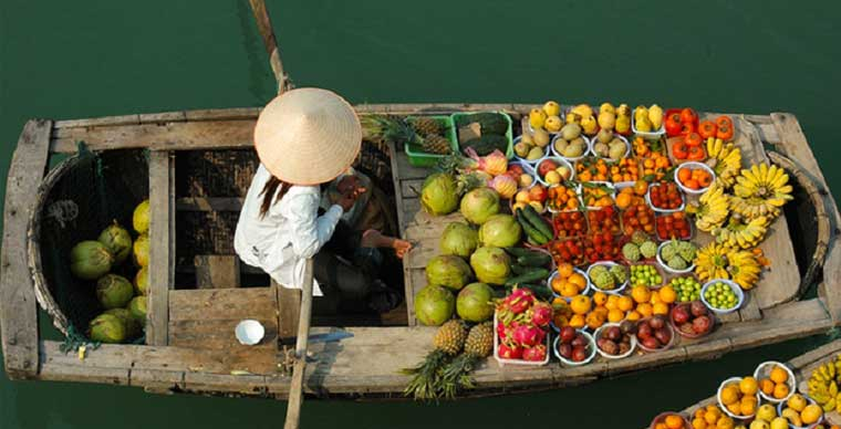 Top 5 unmissable floating markets in Mekong Delta