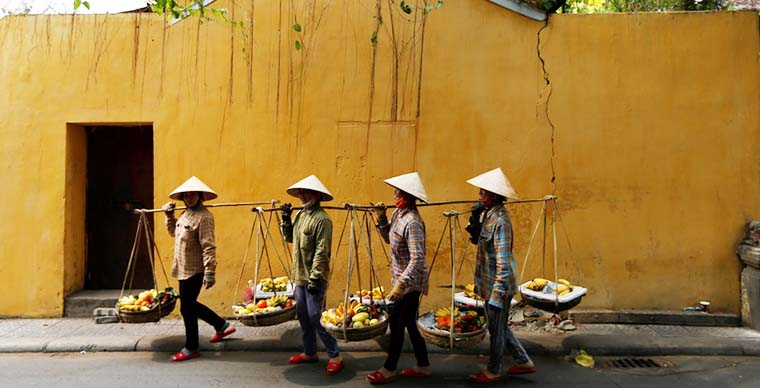 The beauty of Vietnamese Conical Hat