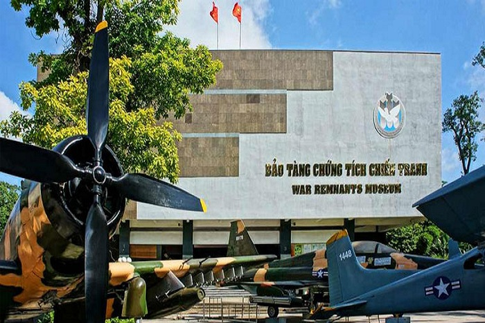 The War Remnants Museum in Ho Chi Minh City