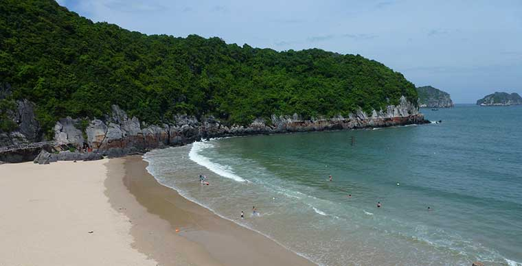 The best beaches near Hanoi city