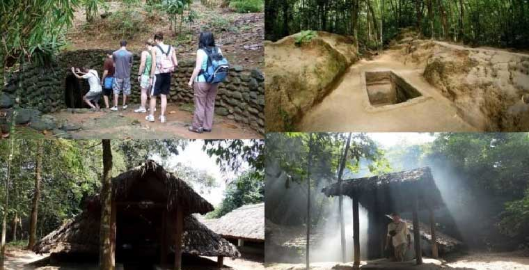 Cu Chi Tunnels - Top most attractive underground works in the world