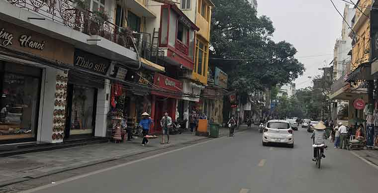 Top suggested must see places in the Hanoi old quarter