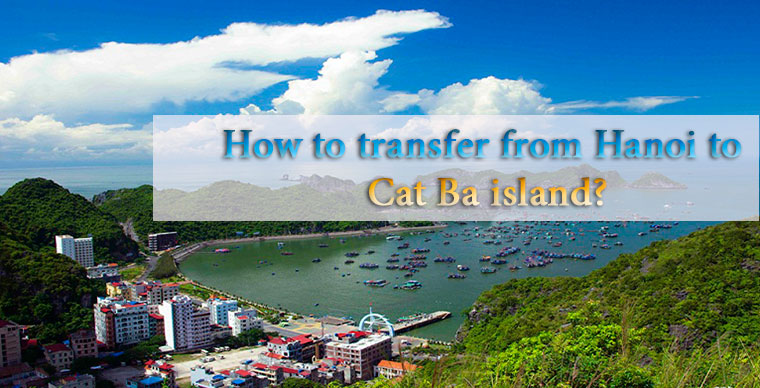 How to transfer from Hanoi city to Cat Ba Island?