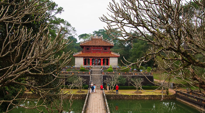 Minh Mang Royal Tomb, architectural jewel of Hue