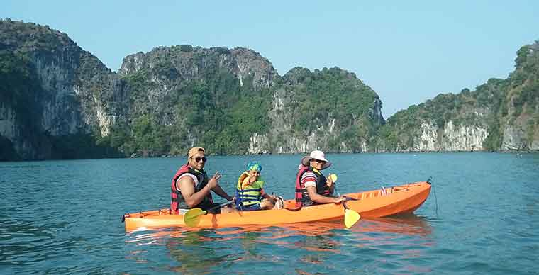 Adventure Activities in Cat Ba Island
