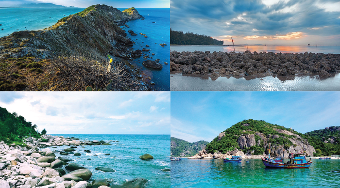 Beautiful and inhabitant islands in Vietnam