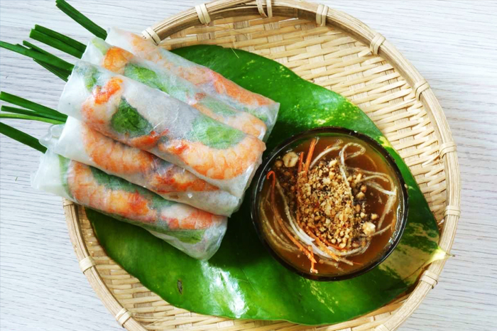Vietnamese spring rolls at the top of tailor-made recipes