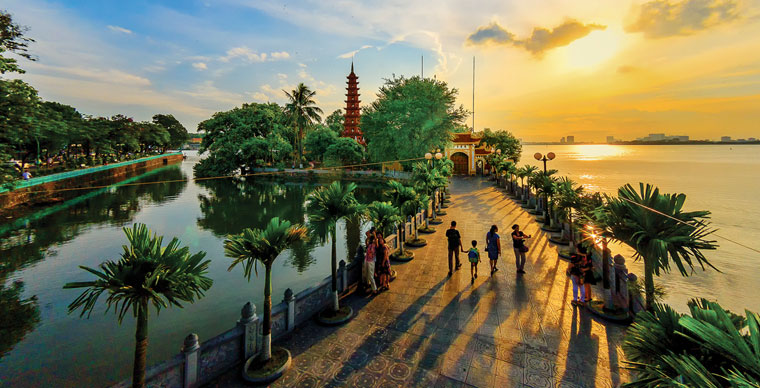 The 3rd extension of the visa to Vietnam