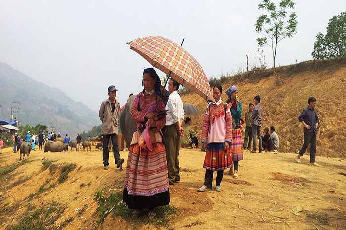 Coc Ly market to visit in Bac Ha