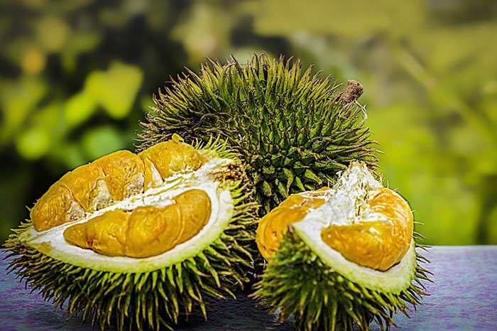 10 exotic fruits in Vietnam durian