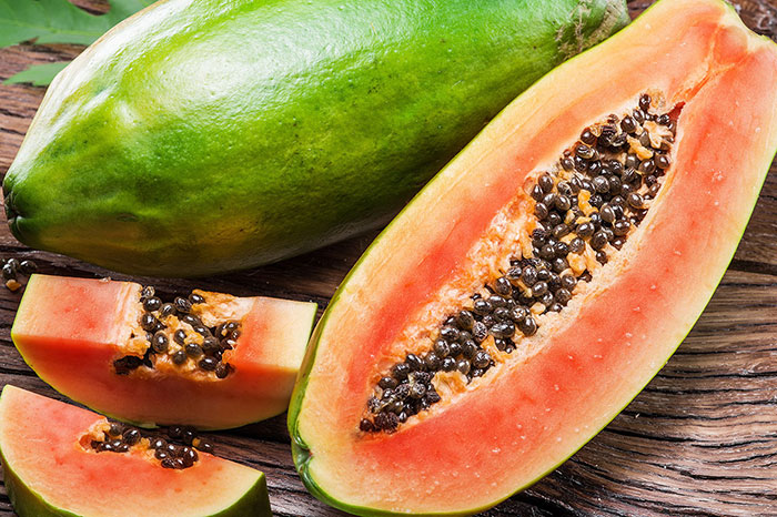 10 exotic fruits in Vietnam papaya