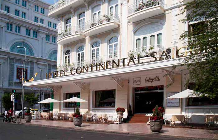 3 historic hotels in Saigon The continential hotel