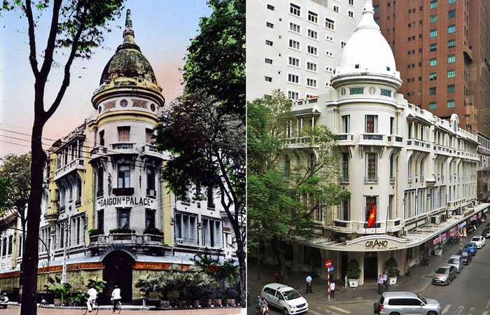 3 historic hotels in Saigon The grand Saigon