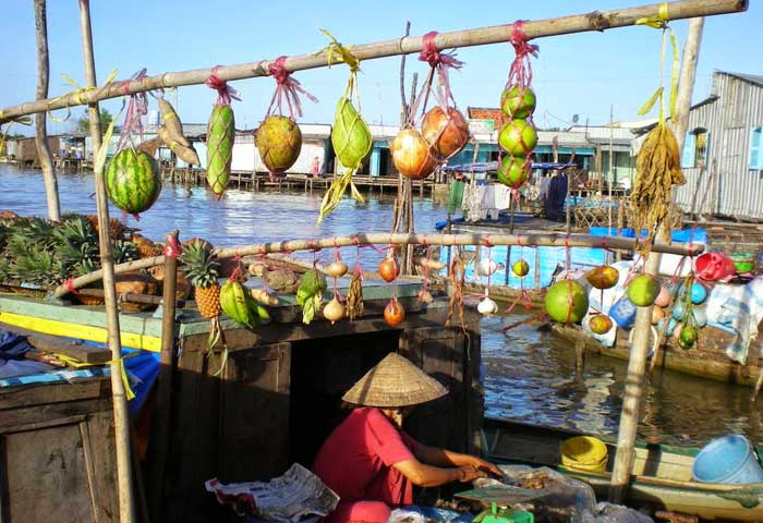 Five umissable market in mekong Cai Rang