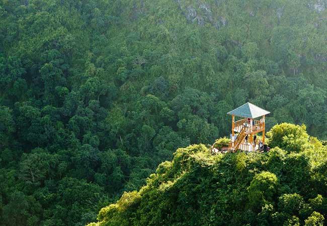 ngu lam peak in cat ba national park