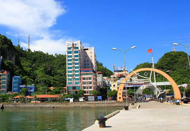 sea pearl hotel in cat ba