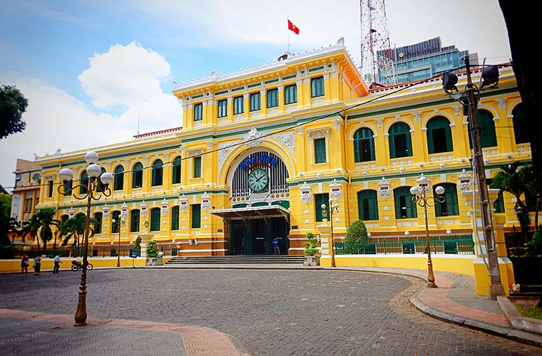 The 5 Best Things To See In the South of Vietnam Center Post Office Sai Gon