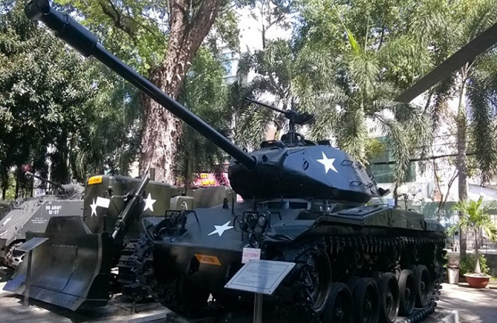 War Remnants Museum saigon tanks