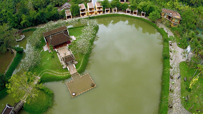 ao dai museum from above