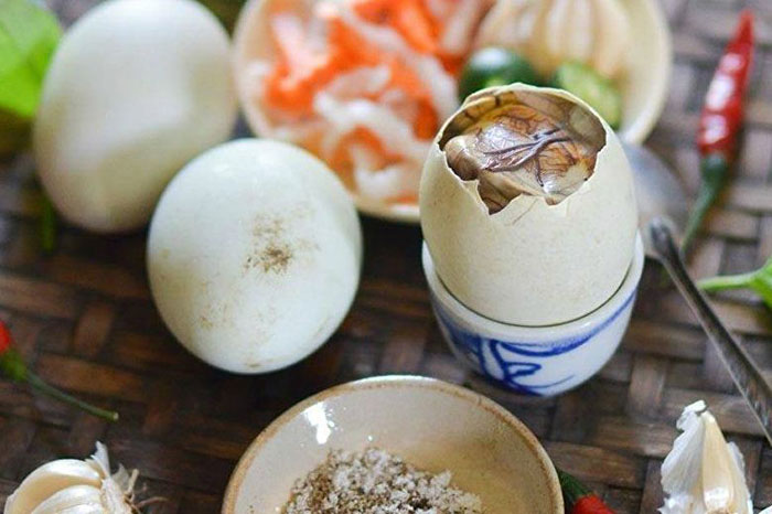 atypical vietnamese dishes balut