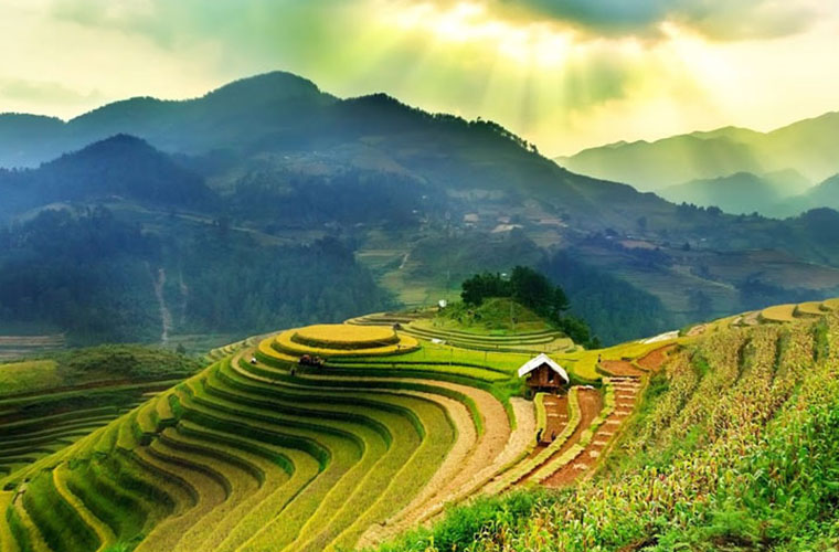best place to visit in Vietnam in April Sapa