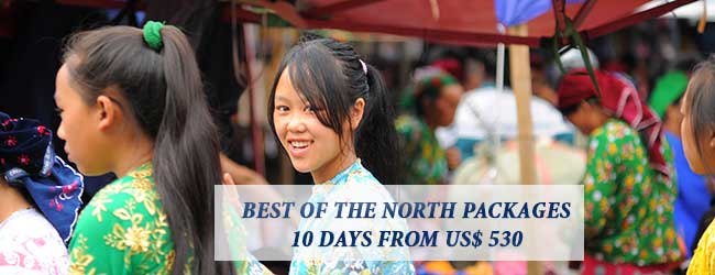 best of the northern vietnam packages