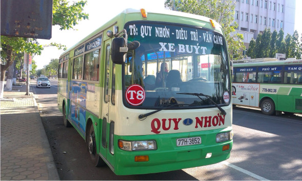 bus station dieu tri to quy nhon city