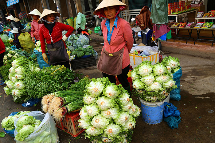 dalat city local market