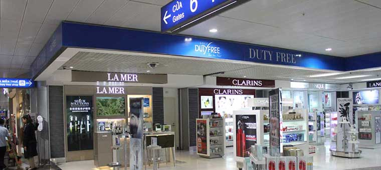 duty free shops at tan son nhat airport
