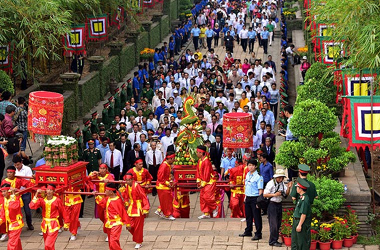 festivals in Vietnam King Hung Vuong festival