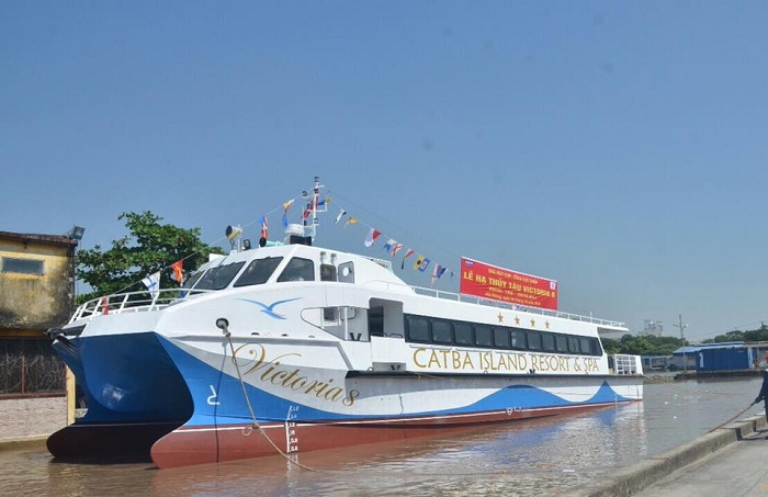 go to cat ba airboat