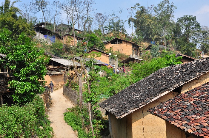 ha giang thien huong village atmosphere
