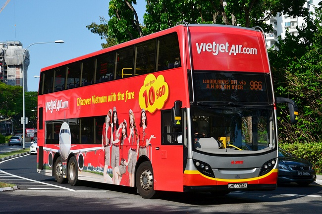 hanoi airport city centre vietjet shuttle bus