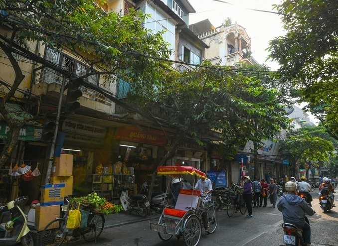 hanoi old quarter past and present hang bo now